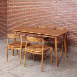 Teak Ross Dining Set 2